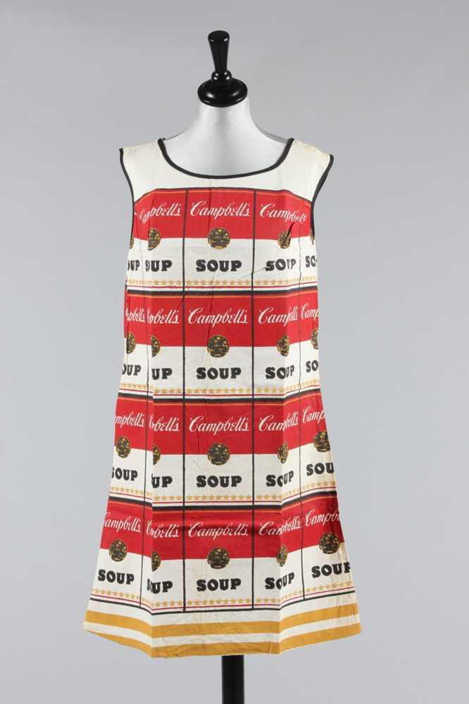 Lot 109 - A Campbell's 'Souper' dress, American, 1968,...