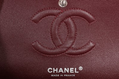 Lot 1-A Chanel quilted lambskin leather classic flap...