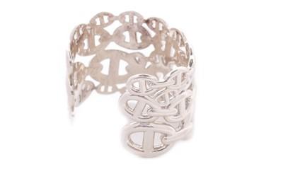 Lot 54-An Hermès 'Chaîne d'Ancre' sterling silver...