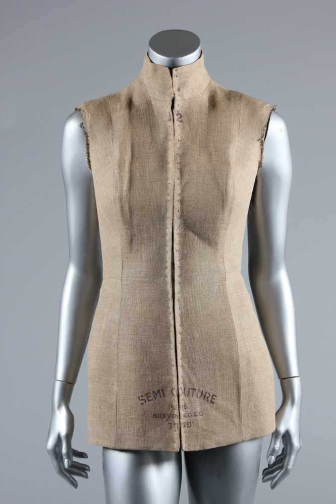 Lot 159-A Martin Margiela Semi-Couture bodice, 1996,...