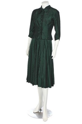 Lot 90-Two Hardy Amies ensembles believed to have belonged to Vivien Leigh, early 1950s