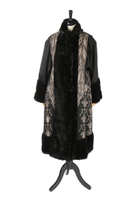 Lot 108-A fine and rare Gabrielle Chanel embroidered...