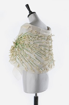 Lot 90-A fine and rare Givenchy couture 'Lily of the...