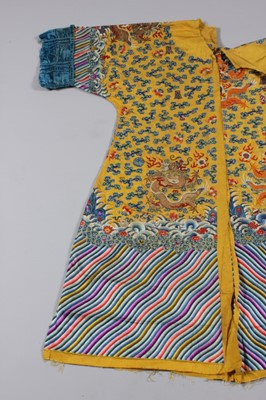 Lot 33 - An Imperial dragon robe, jifu, Chinese, late...
