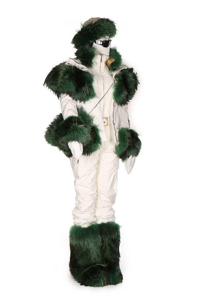 Lot 52-A bespoke Vist ski ensemble, 2012, labelled...