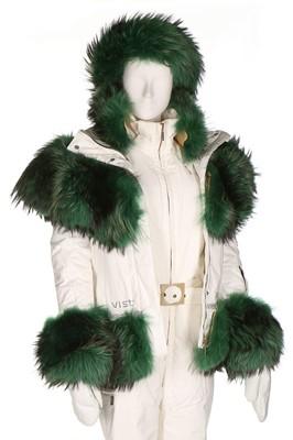 Lot 52 - A bespoke Vist ski ensemble, 2012, labelled...