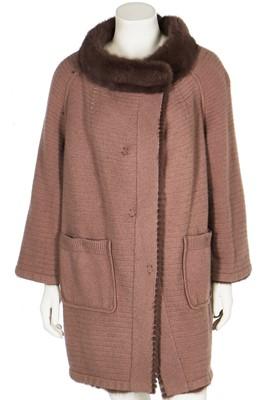 Lot 23 - Three de Carlis knitted mink coats/cardigans, 1990s-2000s