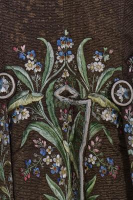 Lot 33 - A good gentleman's court dress, French, circa 1800