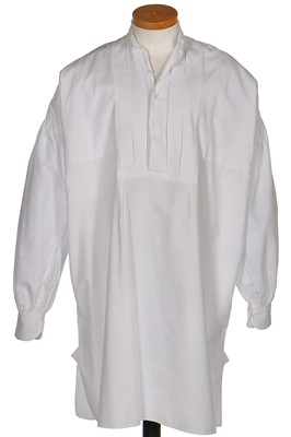 Lot 43-A gentleman's shirt, 1840-50