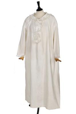 Lot 48-Queen Victoria's fine lawn nightdress, late 19th century