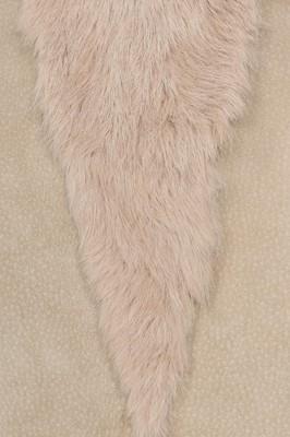 Lot 16-Alexander McQueen suede and rabbit fur skirt, 'Eshu', Autumn-Winter 2000-01