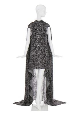 Lot 3-Alexander McQueen cut velvet evening gown, 'Danté', Autumn-Winter 1996-97