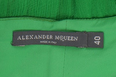 Lot 41-Alexander McQueen, emerald chiffon cocktail dress, 'The Man Who Knew Too Much', A/W 2005-06