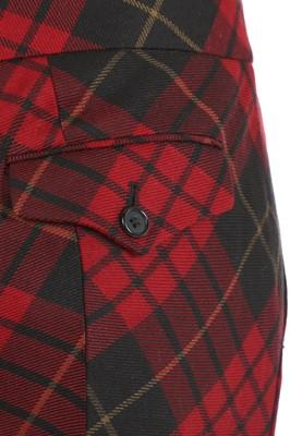 Lot 45-Alexander McQueen tartan trousers, 'Widows of Culloden', Autumn-Winter 2006-07