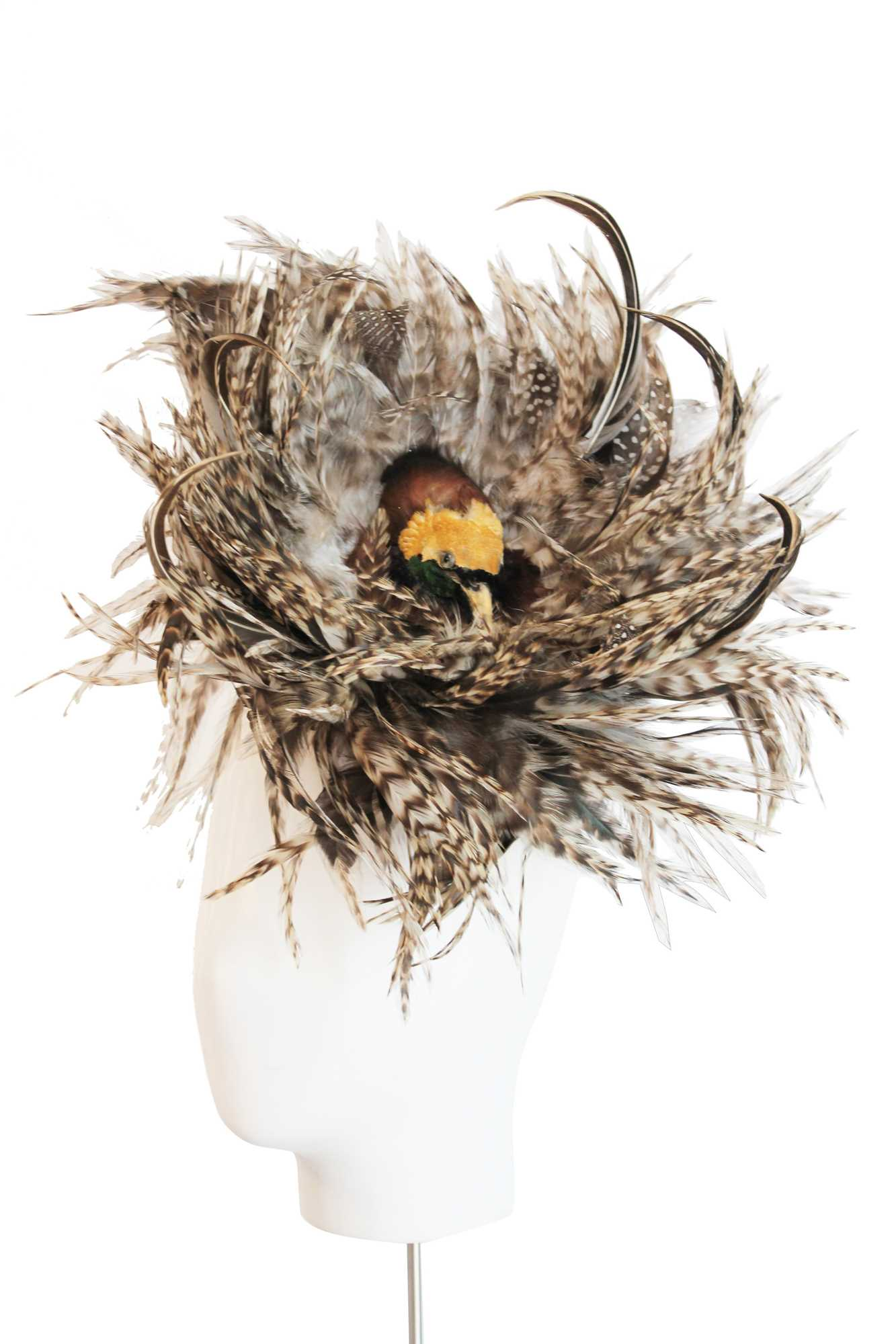 Lot 4-A Philip Treacy 'bird's nest' hat, 1996