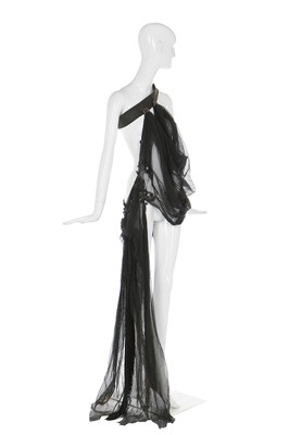 Lot 7-Alexander McQueen tulle over-dress, probably a prototype for 'Danté', Autumn-Winter 1996-97