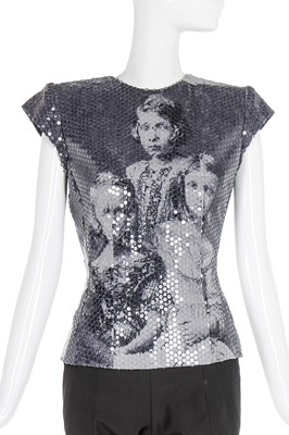 Lot 9-Alexander McQueen sequined 'Romanov' bodice, 'Joan', Autumn-Winter 1998-99