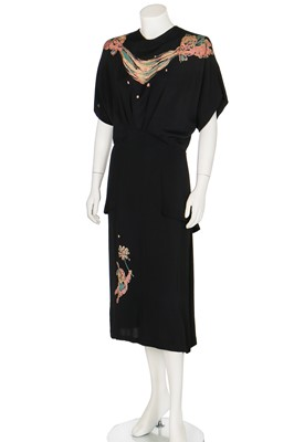 Lot 88-Joan Crawford's Gilbert Adrian dinner gown, circa 1943