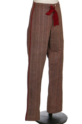 Lot 45-A fine and rare Henry Poole & Co. gentleman's smoking suit, English, 1885