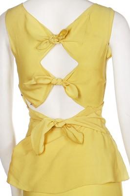 Lot 28-Twelve garden party dresses, late 1930s-1940s