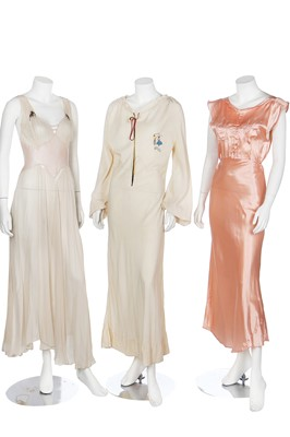Lot 65-A good group of lingerie, mainly 1930s