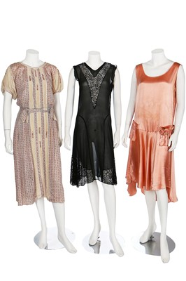 Lot 16-An interesting group of clothing, 1920s