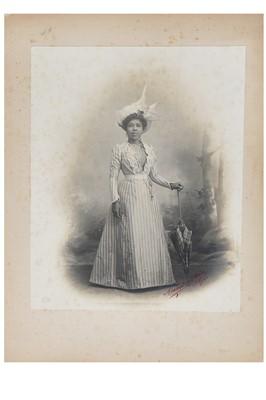 Lot 51 - Fashion, photos and ephemera relating to the Queen of Madagascar - Ranavalona III  and Princess Ramasindrazana, 1895-1924
