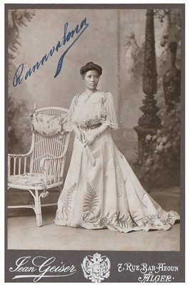 Lot 51 - Fashion, photos and ephemera relating to the Queen of Madagascar - Ranavalona III  and Princess Ramasindrazana, 1895-1924