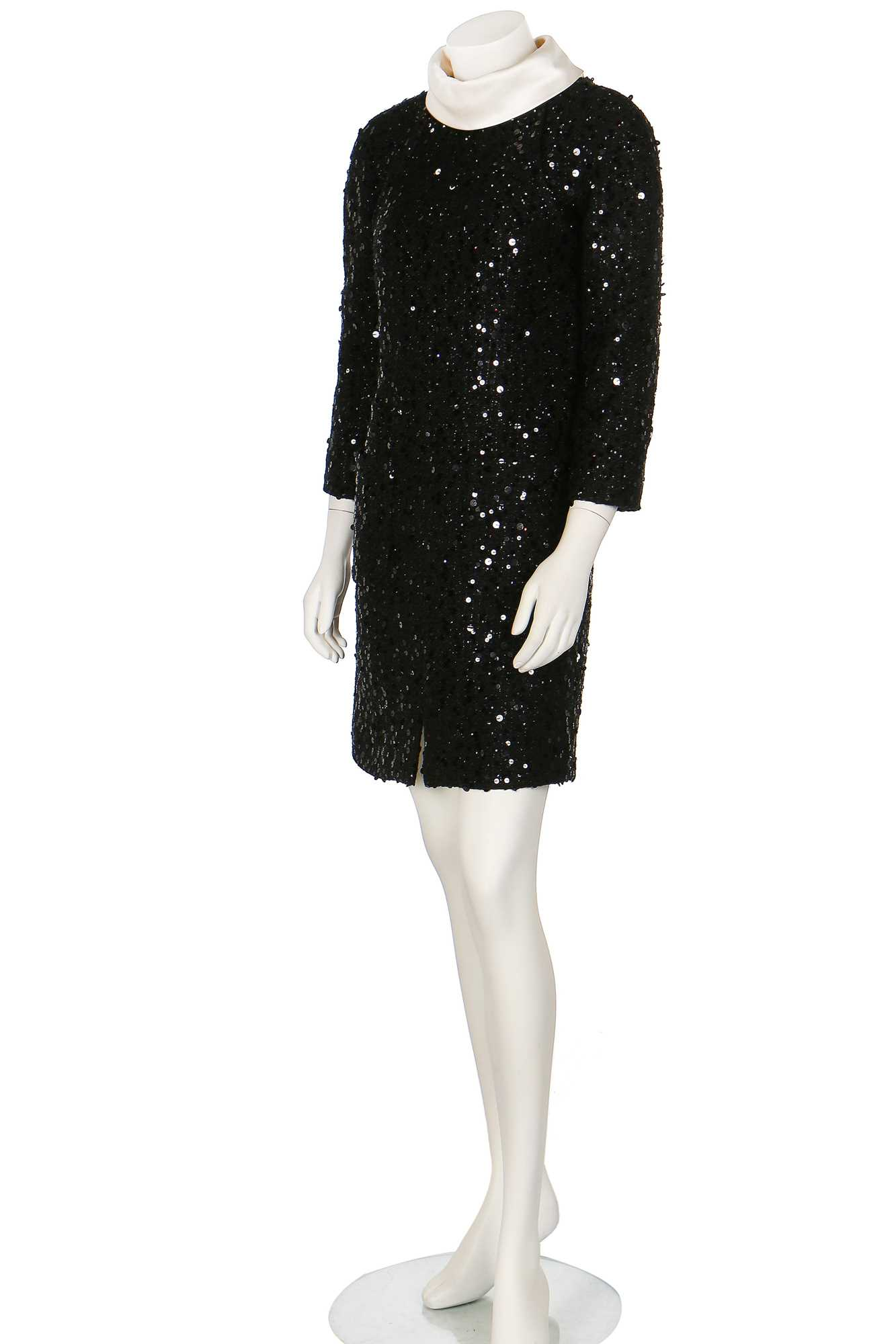 Lot 13-A Chanel sequinned black fantasy-tweed dress, Autumn-Winter 2017-18