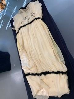 Lot 31 - Two Liberty printed silk day dresses, circa 1917
