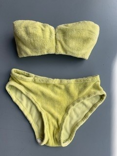 Lot 341 - The bikini believed to have been worn by Barbara Windsor in the film 'Carry on Camping', 1969
