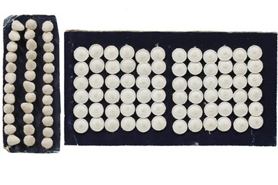 Lot 1 - Dorset buttons, late 18th-early 19th century