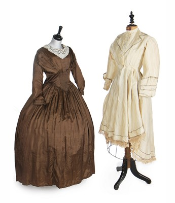 Lot 7 - A group of Victorian clothing, 1850s-1880s