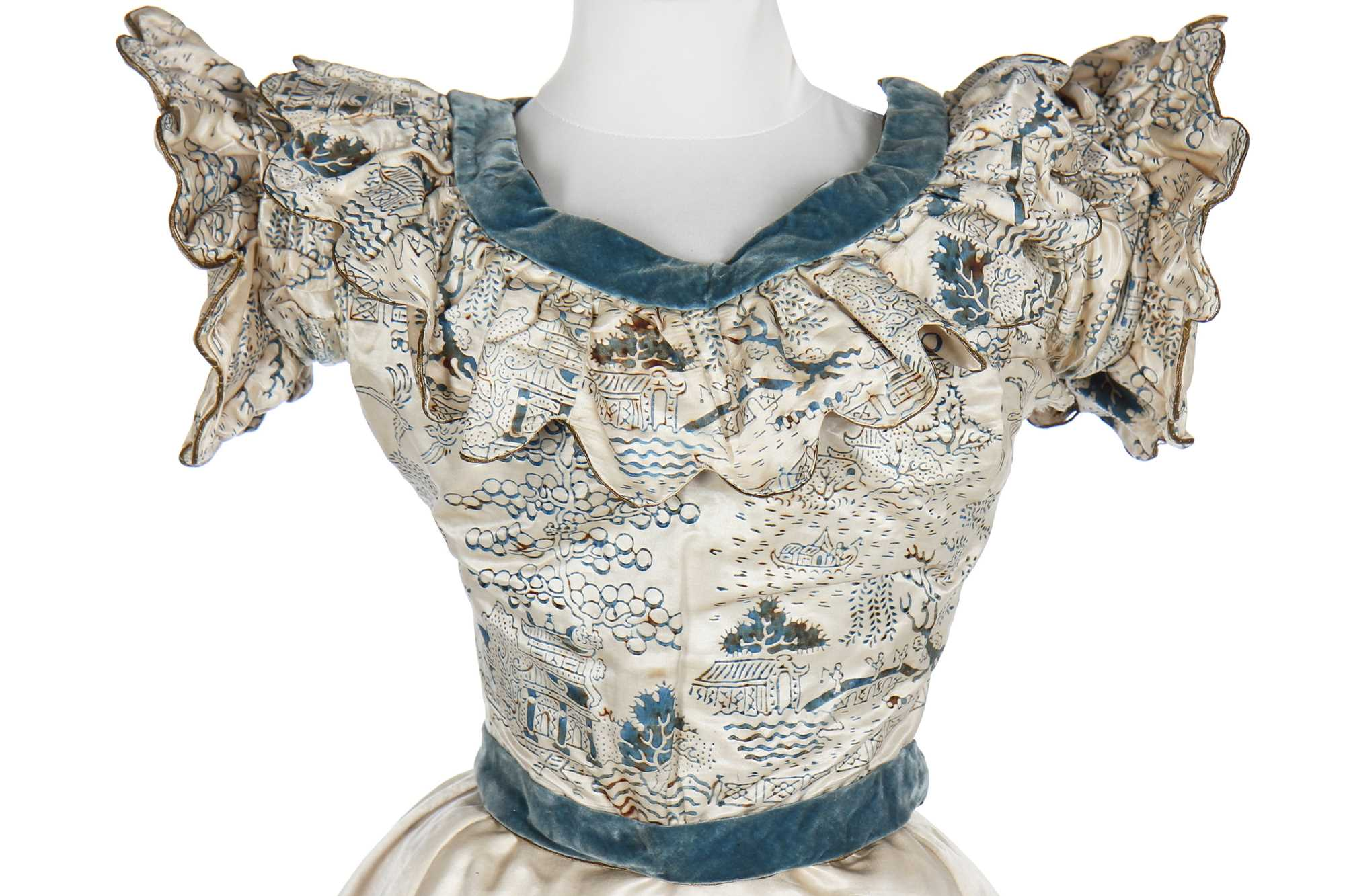 Lot 10 - An interesting group of mainly theatrical costumes, 1880s-1960s