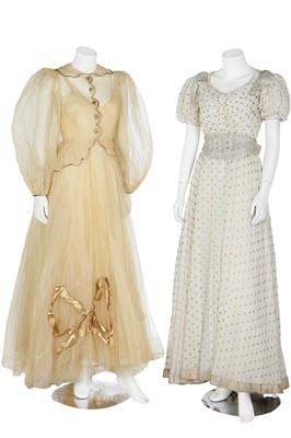 Lot 74 - Nine garden party dresses, 1930s
