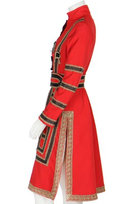 Lot 115 - A rare Colin Wild 'Beefeater' tunic-dress, 1960s