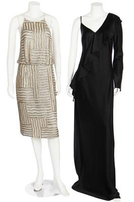 Lot 54 - Two Diane Von Furstenberg evening/cocktail dresses, 2000s