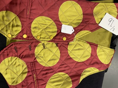 Lot 91 - Three Richard James men's colourful silk waistcoats, circa 1990