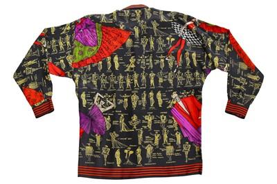 Lot 84 - A Gianni Versace men's printed silk shirt, circa 1992