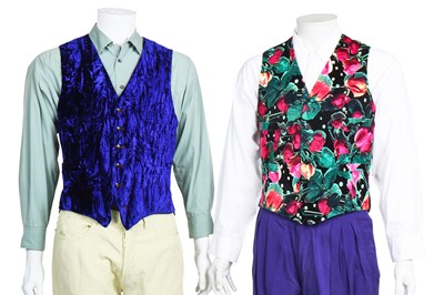 Lot 81 - A group of colourful designer menswear, late 1980s-early 1990s