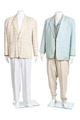 Lot 78 - A group of Comme des Garçons mainly linen summer menswear, 1980s-1990s