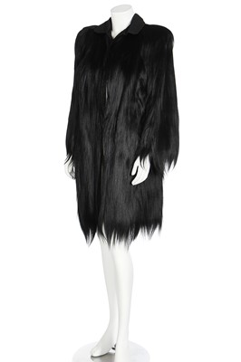 Lot 35 - A Beckman Furs Colobus monkey-fur coat, 1940s