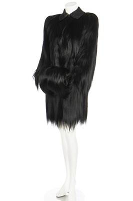 Lot 33 - An A.F Schwalb of Toledo Colobus monkey-fur coat, late 1930s-early 40s