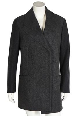 Lot 66 - A Margiela charcoal-grey wool coat , 2000s