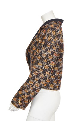 Lot 20 - A Chanel tweed jacket, late 1980s