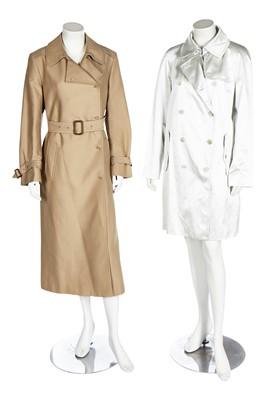 Lot 64 - Two Margiela trench coats, 2000s-2010s