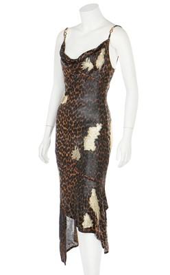 Lot 50 - A Christian Dior by John Galliano leopard print dress, Autumn-Winter 2000-01