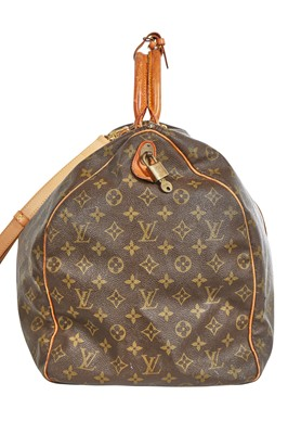 Lot 42 - A Louis Vuitton monogrammed leather holdall, 1980s