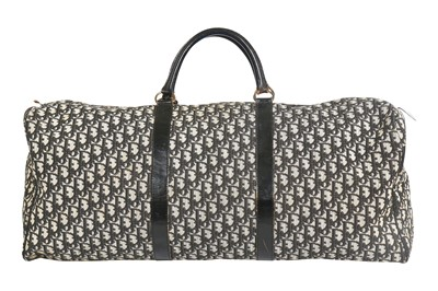 Lot 36 - A Dior monogrammed canvas holdall, 1970s
