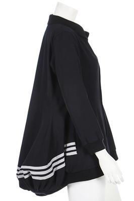 Lot 74 - A Yohji Yamamoto 'Adidas' striped jacket, Autumn-Winter, 2001-02
